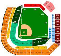 Coors Field Seating Chart Game Information