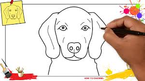 dog face drawing for kids.  Kids How To Draw A Dog Face Head 3 EASY U0026 SLOWLY Step By For Kids And  Beginners For Dog Face Drawing Kids