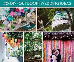 Small Picture Roundup 20 Amazing DIY Outdoor Wedding Ideas Curbly