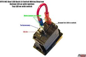 wiring diagram for lighted rocker switch images ac rocker switch net rocker switch wiring diagram additionally 4 prong