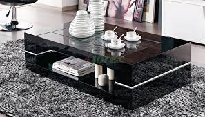 glass top coffee table with drawers rectangular glass top dining table sets modern rectangular