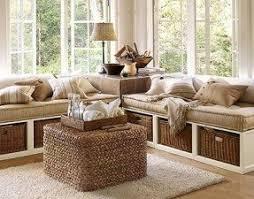 Sofa with storage underneath
