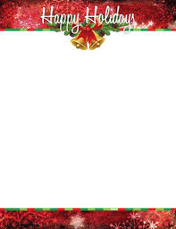 Holiday Templates For Word Free Christmas Stationery Templates Word Envelope Template Word Letter