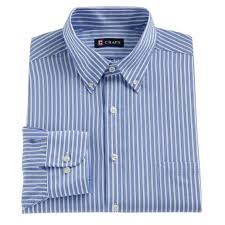 Chaps Shirt Size Chart Chaps Mens Classic Fit Twill Dress Shirt Powder Blue At