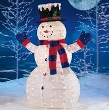 Outdoor Lighted Snowman Decorations Awesome Furniture Regarding 16 | Netmostwebdesign.com outdoor lighted snowman christmas decorations.