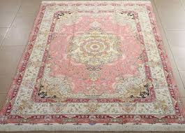 pink oriental rug stylish persian stylist design extremely fine