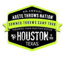 shot put and discus throws c houston texas
