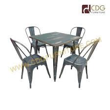rectangle metal frame dining table metal dining table small round metal dining table