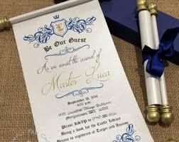 Scroll Invitation Etsy
