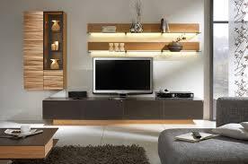 Living Room Cupboard Furniture Design Interior Design Of Living Room With Lcd Tv Wandregal Rfel Grau