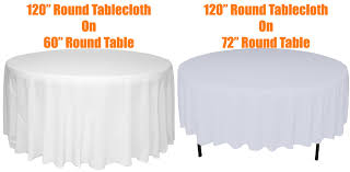 top what size tablecloth for a 72 round table starrkingschool with what size tablecloth for a 72 round table plan