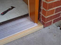 front door thresholdExterior Door Threshold  New Decoration  Beneficial Of Exterior