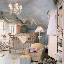 Forecast: Sunshine Baby Nursery Decorating Idea. Prev NEXT. A trio of  flying geese, one garbed as Mother Goose, adds an imaginative touch