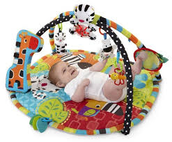 Bright Starts Spots Stripes Play Gym - Playgyms Toys | Baby Bunting