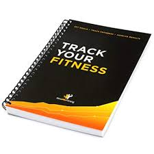 workout log book fitness journal 25 week designed by experts w