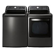lg washer and dryer. lg 5.2 cu. ft. top load washer w/ steam \u0026 7.3 lg and dryer