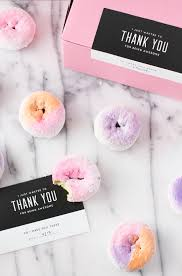 how to make girly things out of paper make this diy ombre color block donuts paper and stitch