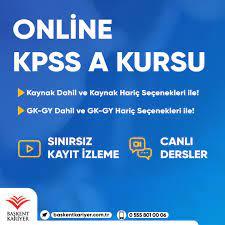 KPSS A 2021-2022 Online – Başkent Kariyer