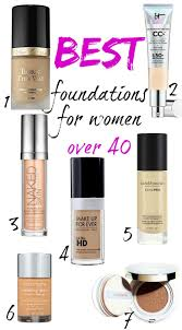 best foundations for women over 40 foundations that don t enhance dry skin or wrinkles and fine lines and don t look cakey