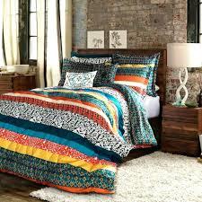 bohemian bed set bohemian 3 piece quilt bedding set previous