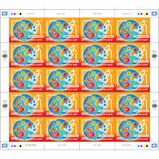 full sheet 2018 world health day chf 1 00 full sheet un stamps