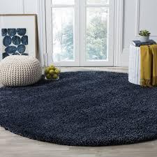 round rugs home depot unique safavieh santa monica navy blue rug of photos improvement teal