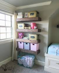 Purple Floating Shelves Beauteous DIY Floating Shelves Plans And Tutorial Shanty 32 Chic
