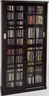 leslie dame ms 700es mission multimedia dvd cd storage cabinet with sliding glass doors espresso