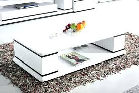 white hi gloss coffee table large size of glossy coffee table high gloss with storage white