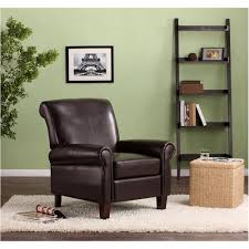 Dorel Living Faux Leather Club Chair Multiple Colors Walmart
