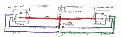 1989 omc sterndrive trim tilt wiring moderated discussion areas simplified schematic diagram of trim control wiring
