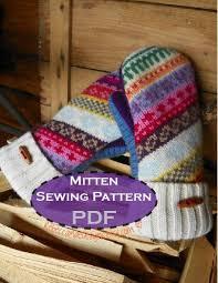 Sweater Mitten Pattern