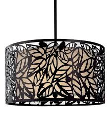 metal pendant lighting fixtures. metal leaf hanging light black finish glass pendant lighting fixtures d