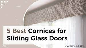 best cornices for your sliding glass doors