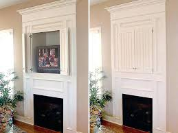 tv above fireplace over fireplace built in hide conceal wires over fireplace tv
