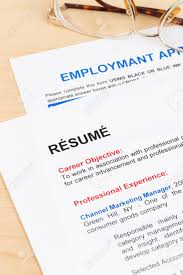 Mock Application Form Resume And Employment Application Form With Glasses Documents