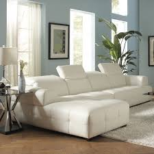 White Sectional Living Room Amazoncom Coaster Home Furnishings 503617 Contemporary Sectional