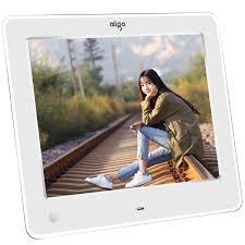 patriot aigo digital photo frame dpf83 8 inch high definition electronic photo al human sensing