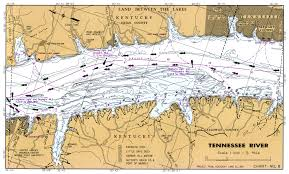 Cumberland River Charts Tennessee River