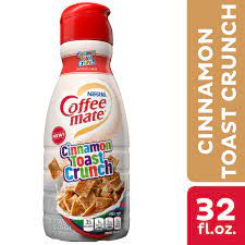 Grand chute check nearby stores. Nestle Coffee Mate Cinnamon Toast Crunch Liquid Coffee Creamer 32 Fl Oz Walmart Com Walmart Com