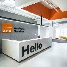 office reception design. Perfect Office Reception Office Design Orange Business  Service Picture Gallery Interior   And Office Reception Design T