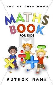 Children Book Cover Design Maths Book