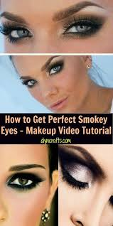 how to get perfect smokey eyes makeup video tutorial getting the smokey eye look is really not that difficult you do need to choose your color palate and