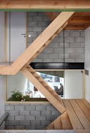 Cinder Block Stairs Styles Make Your Home Safe With Great Cinder Block Homes Design
