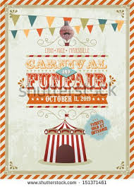 Free Carnival Poster Template Vintage Fun Fair And Carnival Poster Template Vector