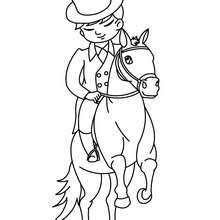 Small Picture Racing horse coloring pages Hellokidscom