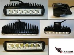 Blackhawk Led Lights 9 33vdc 15w Led Spreader Deck Light Lamp Spot Beam Black