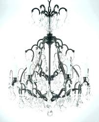 stunning small black candle chandelier designs