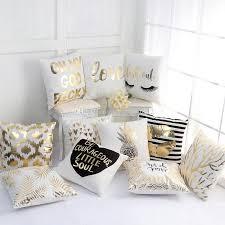 Valentine'S Day Bronzing Pillow Case Stripe Lips Eyelash Black White ...