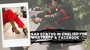 1000 Best Sad Status In English For Whatsapp Facebook